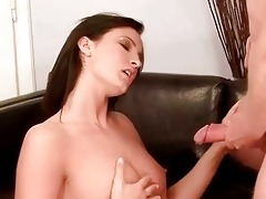 older man fucking and pissing on angel
