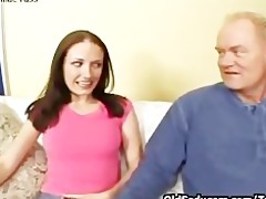hailey youthful riding old penis
