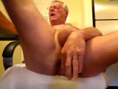 perverted oldman solo pounder and ass enjoyment