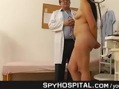 old voyeur doctor spying on juvenile girls
