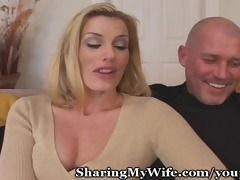 curious pair seeks youthful guy for fucking wife