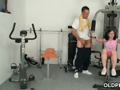 fucking in a intimate gym
