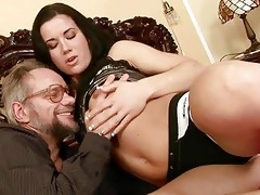 grand-dad enjoys naughty sex with beautiful legal