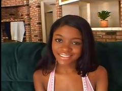 youthful black cutie s audition...f70
