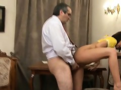 teacher is getting juicy oral-sex