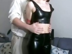 hawt redhead whipped like the family pig