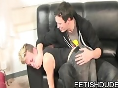 hans blan and derrick paul: fetish daddy spanking