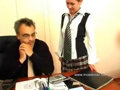vaginal spunk flow for daughter