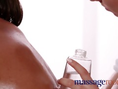 massage rooms big tits girls slammed by masseur