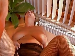 grandma gets dicked hard from younger dude