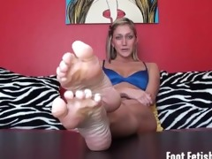 bratty sexy step-sister foot humiliation