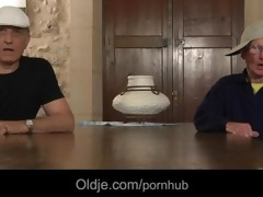 retired oldmen acquires younger fucking nubiles