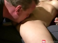 concupiscent mother blowing cock