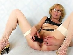 blondie mother gapes and copulates her fuck
