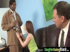juvenile daughter gets pounded by big black