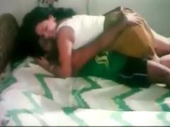 bro pressing sister wazoo and kissing