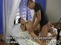 wang pleased by a virgin