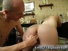old papy fucking young tattooed wife part4