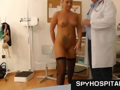 chic hotty at gyno doctor caught on hidden webcam