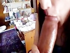 sucking dick whilst daddys cutting the yard