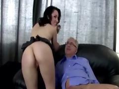 old man bonks youthful sweet pussy