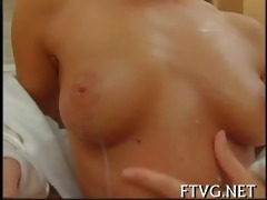 breasty angel masturbating