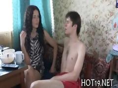 stranger copulates nice-looking gal