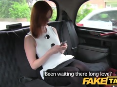 faketaxi red head with large natural melons hopes