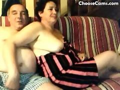 horny grandma and granddad having enjoyment