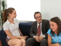 tricky old teacher fucked legal age teenager