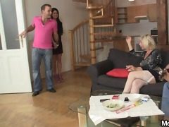 girlfriend and his parents having sex