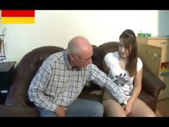 german grandpapa makes youthful angel horny