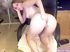 blonde college angel marie masturbates