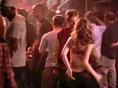 michelle trachtenberg - shaking it is for dad
