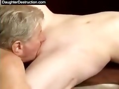 cut oriental daughter fucked good
