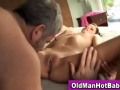 missy stone licked by ribald old man