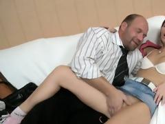 delighting an old teacher