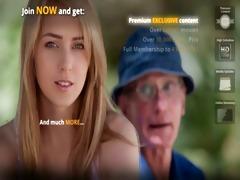 oldmen double penetrates a wicked nurse