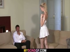 lovely young blond falls for her bf&#039 s