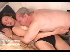 russian grandpa nailed his granddaughter,,...