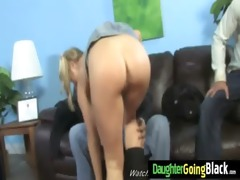 youthful daughter with admirable booty fucked by