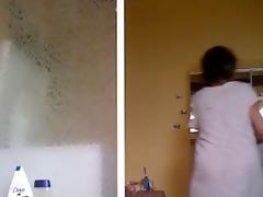 mother of the bride shower hidden webcam