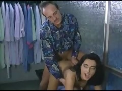 father fuck daughter before she is go out