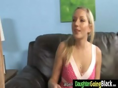 watching my young sexy daughter banged by black